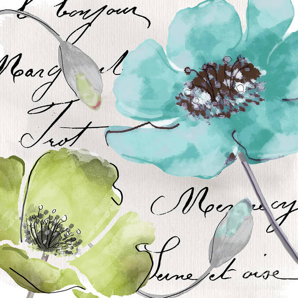 Fleurs Wall Art - Painting - Fleurs De France  by Mindy Sommers
