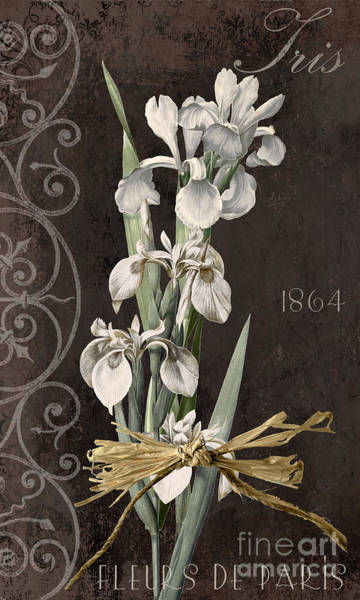 Amaryllis Painting - Fleurs De Paris II by Mindy Sommers