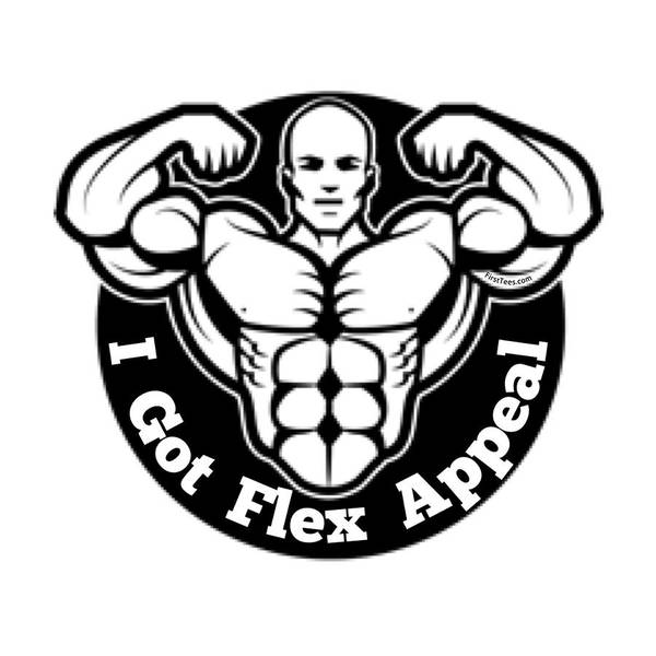 Powerlifting Digital Art - Flex Appeal by Firsttees Motivational Artwork