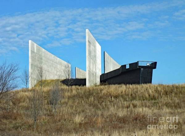 Somerset County Photograph - Flight 93 Memorial by Cindy Treger