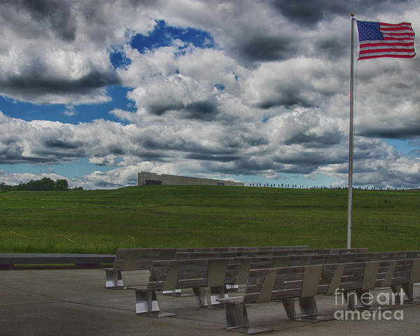 Hijack Wall Art - Photograph - Flight 93 Memorial by Tom Gari Gallery-Three-Photography