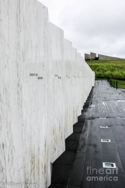 Wall Art - Photograph - Flight 93 Memorial by William Rogers