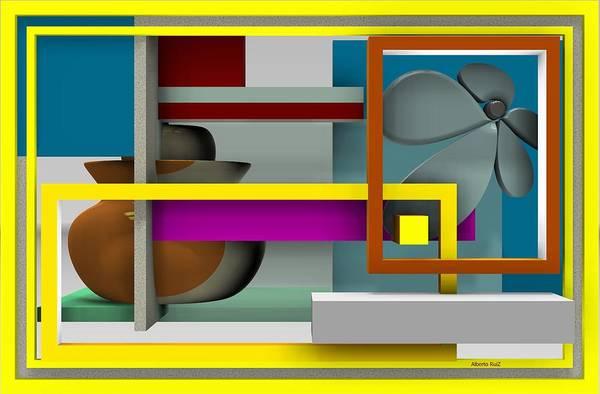 Digital Art - Flight by Alberto  RuiZ