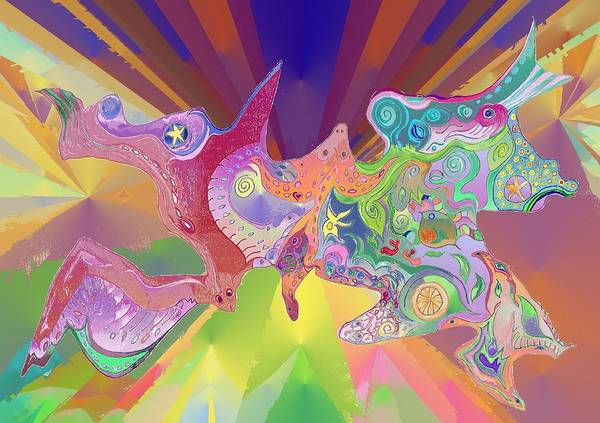 Digital Art - Flight Of Evolution by Julia Woodman