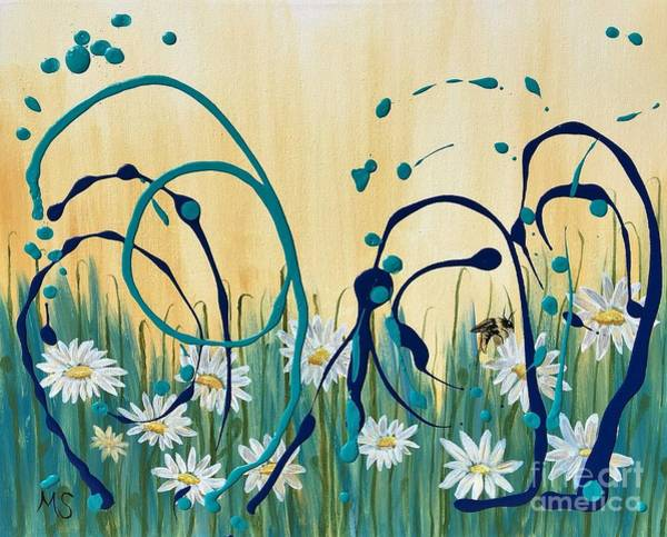 Painting - Flight Of The Bumblebee by Monika Shepherdson