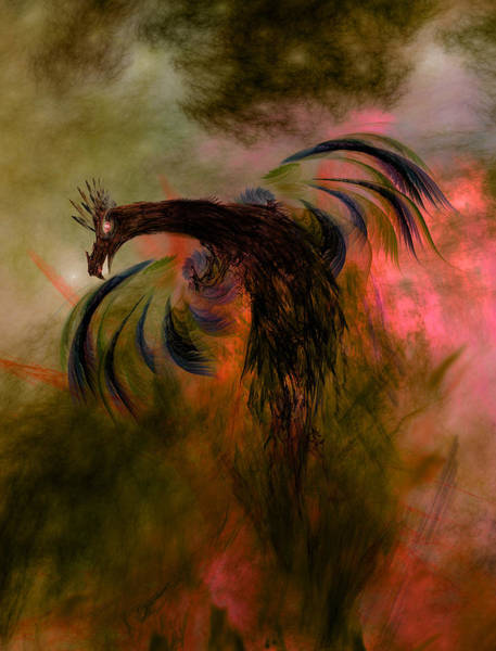 Ashes Digital Art - Flight Of The Phoenix by Carol and Mike Werner