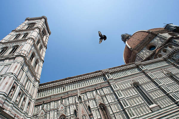 Photograph - Flight Over Duomo by Mark Currier