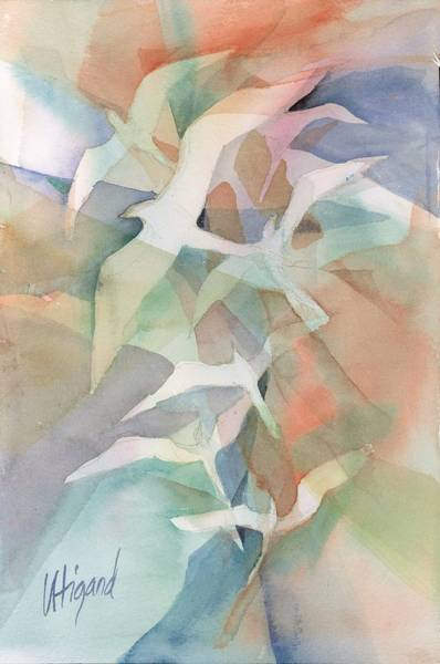 Painting - Flight Pattern by Carolyn Utigard Thomas