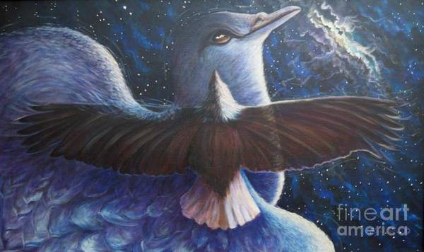 Painting - Flying Lamb Productions.      Flight  by Sigrid Tune