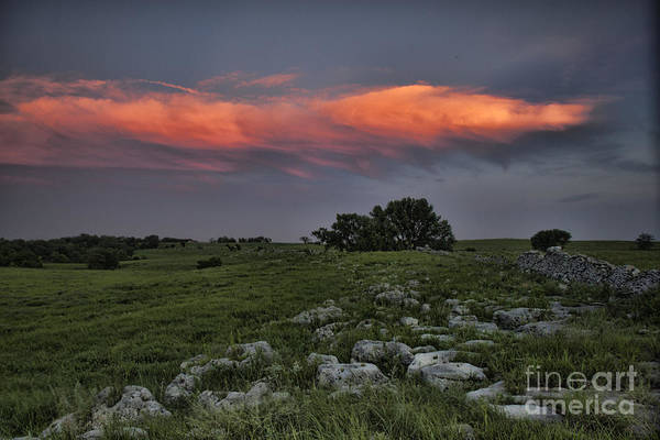 Photograph - Flinthills Sunset by Crystal Nederman