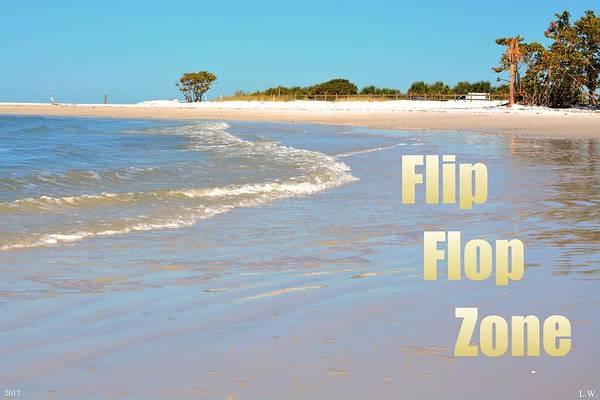 Photograph - Flip Flop Zone by Lisa Wooten