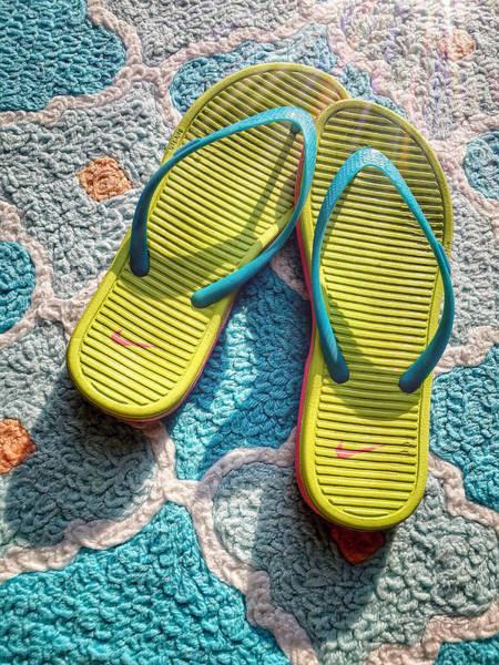 Photograph - Flip Flops by Jill Love