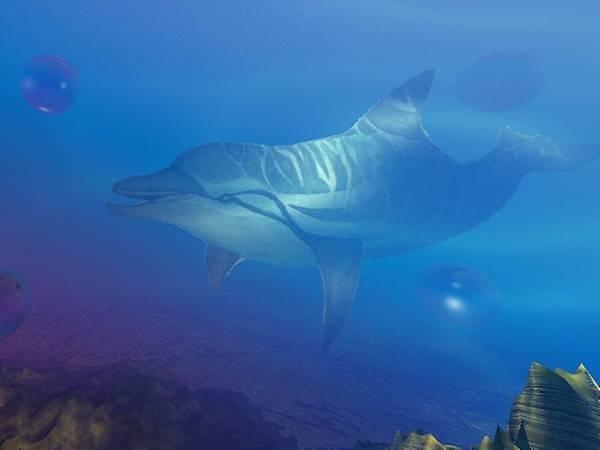 Digital Art - Flipper One by Darren Cannell