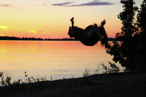 Photograph - Flips At Sunset by Kelly Hazel