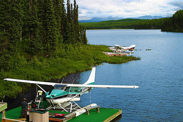 Wilderness Wall Art - Photograph - Float Planes by Frank Savarese