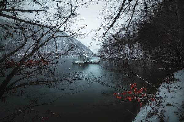 Wall Art - Photograph - Floating Cabin by Adrian Malanca