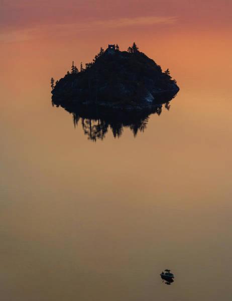 Floating Castle Art Print