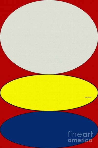 Digital Art - Floating Circles by Rafael Salazar