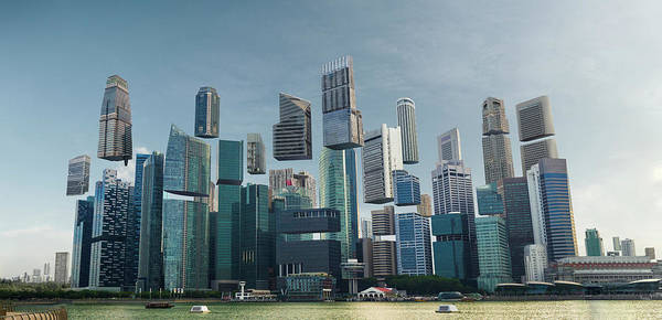 Photograph - Floating City by Andrew Kow