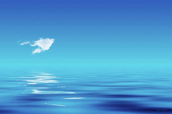 Photograph - Floating Cloud by Wim Lanclus