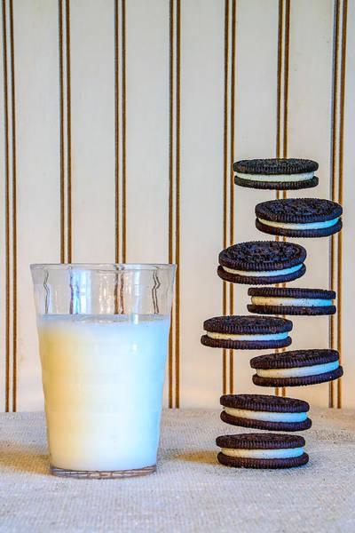 Nabisco Photograph - Floating Cookies by Sandi Kroll