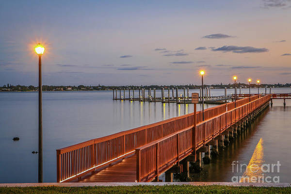 Photograph - Floating Docks by Tom Claud