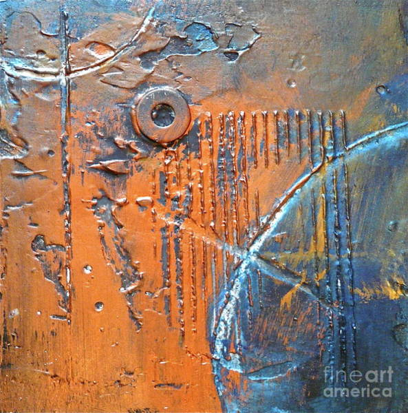 Compound Mixed Media - Floating by Donna McLarty
