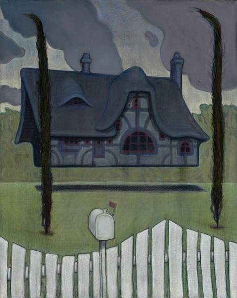Painting - Floating House by John Reynolds