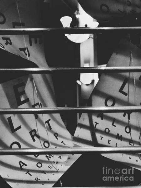 Photograph - Floating Letters by Jenny Revitz Soper