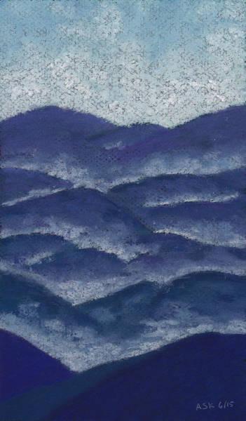 Pastel - Floating Mist by Anne Katzeff