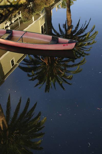 Floating On Palms Art Print