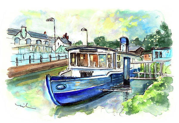 Painting - Floating Restaurant In Truro by Miki De Goodaboom