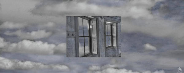 Photograph - Floating Shutters In The Clouds by Wayne King