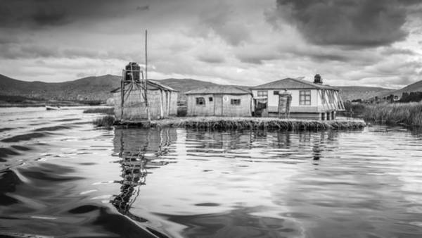 Photograph - Floating Uros Island by Gary Gillette