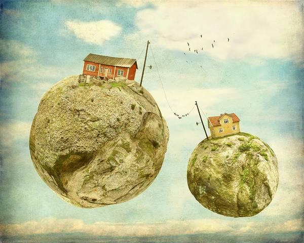 Wall Art - Photograph - Floating Village by Sonya Kanelstrand