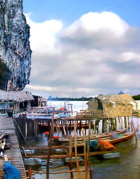 Photograph - Floating Village Thailand by Kurt Van Wagner