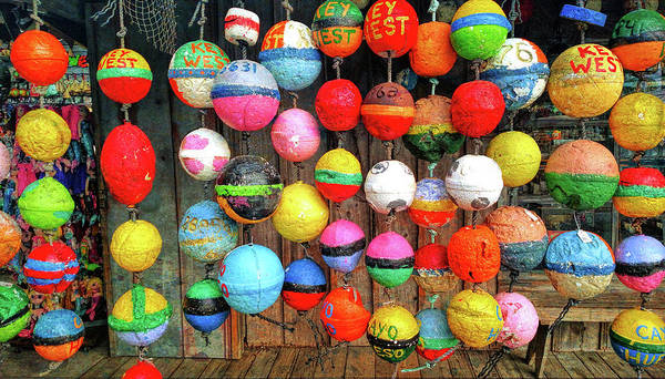 Photograph - Floats And Buoys by JAMART Photography