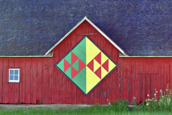 Wall Art - Photograph - Flock Of Geese - Iowa - Quilt Barn by Nikolyn McDonald