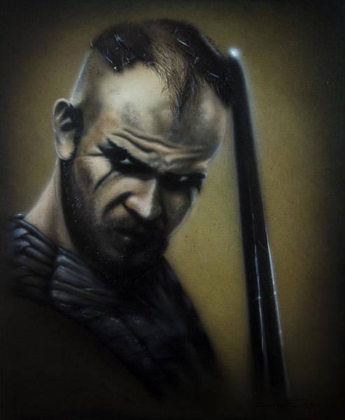 Painting - Floki Ready For Battle by Daniel Natterdal