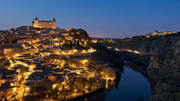 Photograph - Flood Lit Toledo by Stephen Taylor