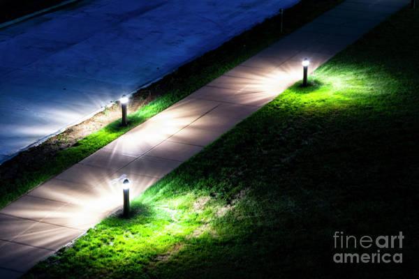 Photograph - Floor Lamps by Dawid Swierczek