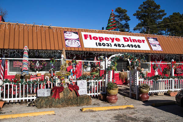 Photograph - Flopeye Diner by Charles Hite