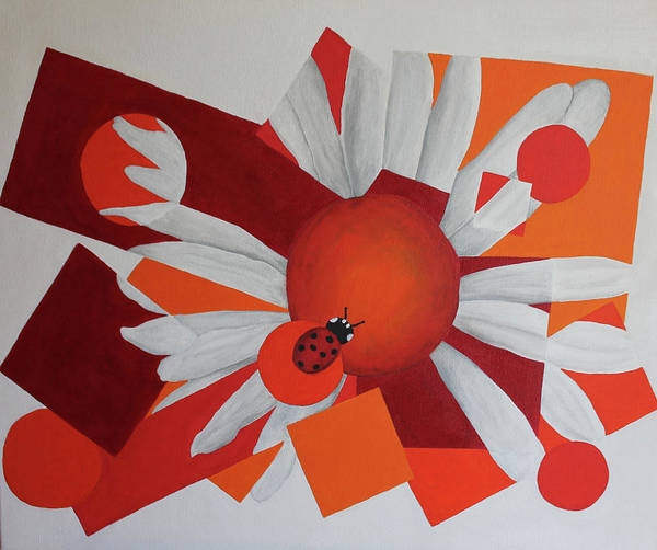 Wall Art - Painting - Flor by Dilia Abreu