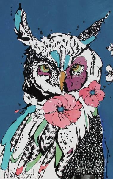 Painting - Flora 2 by Nicole Gaitan