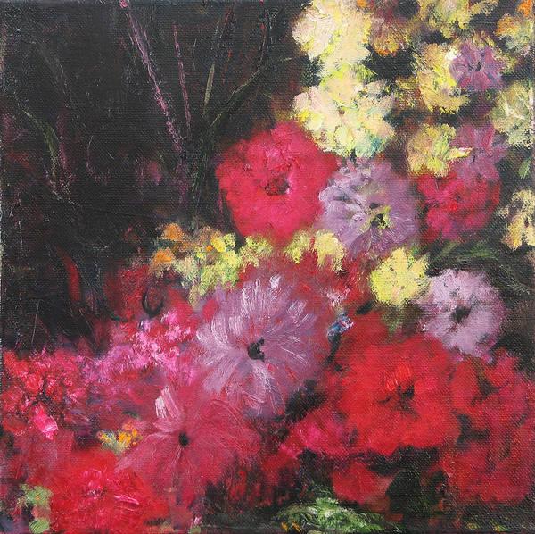 Wall Art - Painting - Flora by Barbara Lipkin
