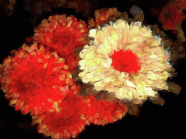 Mixed Media - Flora Barcelona by Susan Maxwell Schmidt