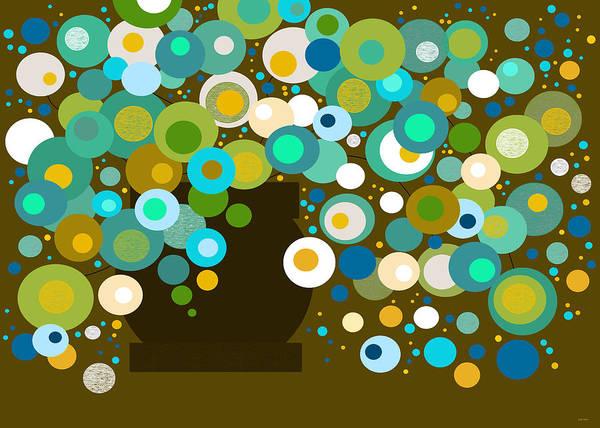 Digital Art - Flora by Val Arie