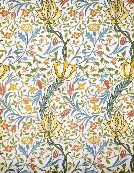 Painting - Flora by William Morris