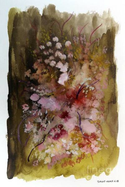 Mixed Media - Floral 13 by David Neace