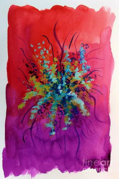 Painting - Floral 14 by David Neace